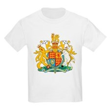 United Kingdom Coat Of Arms Kids T-Shirt