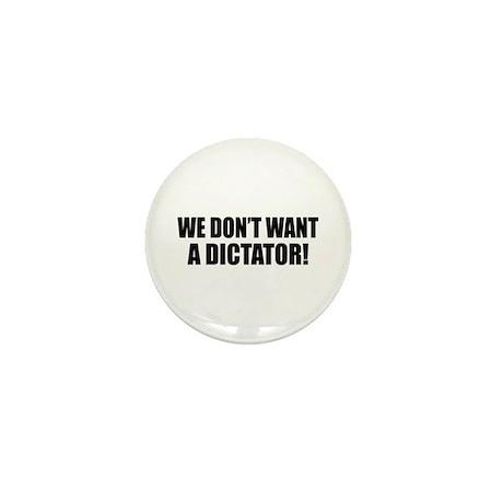Anti-Obama Dictator Mini Button (10 pack)