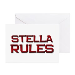 stella rules Greeting Cards (Pk of 20)