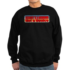Assault is a Behavior Sweatshirt