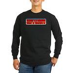 Assault is a Behavior Long Sleeve Dark T-Shirt