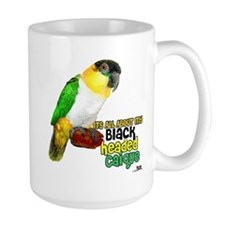 Black Headed Caique Mug