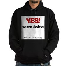 Yes We're Twins - Hoodie