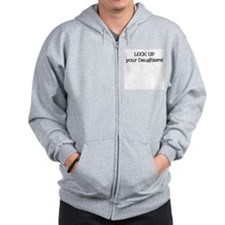 Lock Up Your Daughters - Zip Hoodie