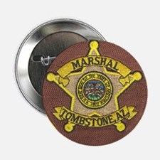 """Tombstone Marshal 2.25"""" Button"""