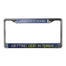 Hawaii License Plate Frame