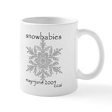 CCAI Snowbabies (black & white) Mug