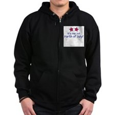 1st Forth of July Twins - Zip Hoodie