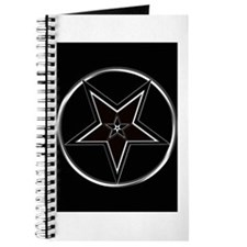 Inverted Pentacle with upright Pentagram Journal