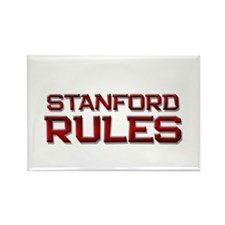 stanford rules Rectangle Magnet (10 pack)