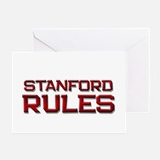 stanford rules Greeting Card