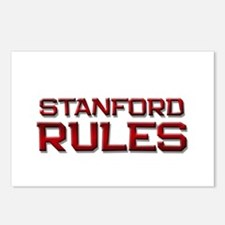 stanford rules Postcards (Package of 8)