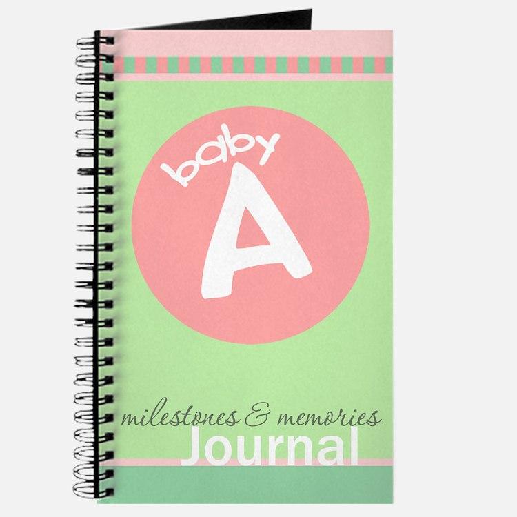 Baby A Milestones & Memories Journal