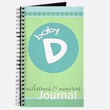 Baby D Milestones & Memories Journal