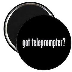 got teleprompter? Magnet