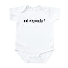 got teleprompter? Infant Bodysuit