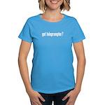 got teleprompter? Women's Dark T-Shirt