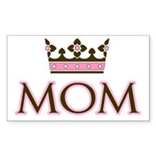 Queen Mom Rectangle Decal