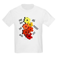 One Day The Pieces Will Fit Amber T-Shirt