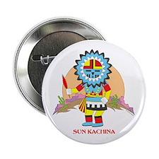 """SUN KACHINA 2.25"""" Button"""