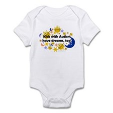Kids With Autism Have Dreams, Too! Infant Bodysuit