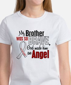 Angel 1 BROTHER Lung Cancer Women's T-Shirt