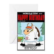 BIG HOOF Greeting Card