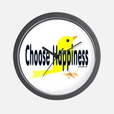 Happiness Choice Wall Clock