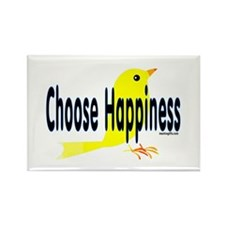 Happiness Choice Rectangle Magnet