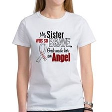 Angel 1 SISTER Lung Cancer Tee