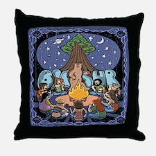 Big Sur 417 Throw Pillow