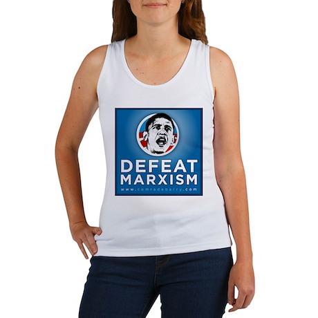 Defeat Marxism Women's Tank Top