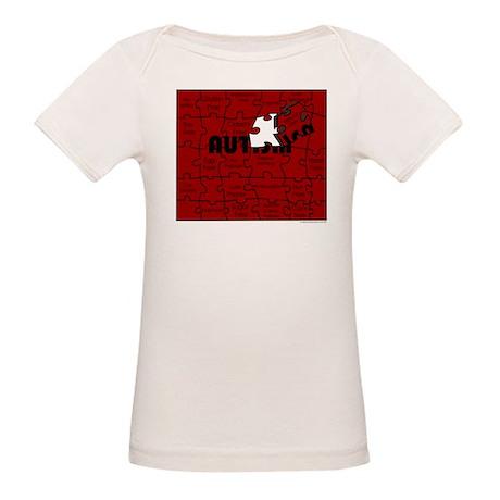 Autism Diet Puzzle Organic Baby T-Shirt