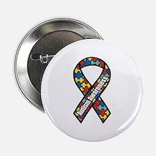 "Autism Ribbon 2.25"" Button"