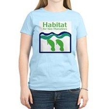 Habitat for two Manatees T-Shirt