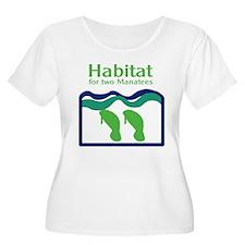 Habitat for two Manatees T-Shirt
