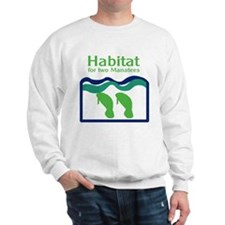 Habitat for two Manatees Sweatshirt