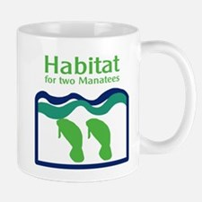 Habitat for two Manatees Mug