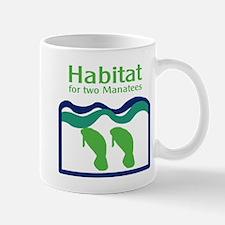 Habitat for two Manatees Small Small Mug