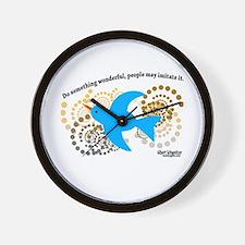 Do Something Wonderful Schweitzer Wall Clock