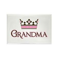 Queen Grandma Rectangle Magnet