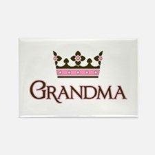Queen Grandma Rectangle Magnet