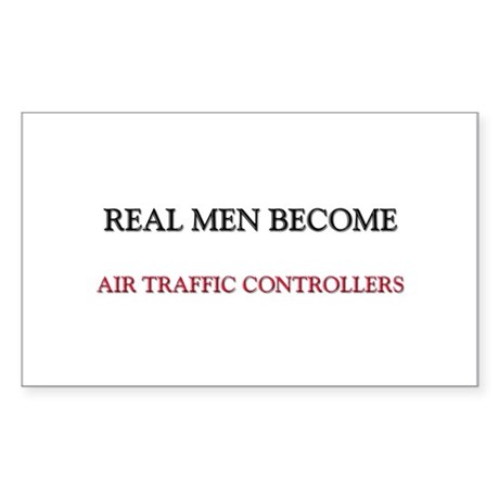 Real Men Become Aircraft Engineers Sticker (Rectan