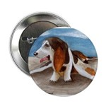 Bewinged Basset Button