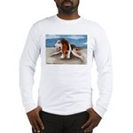 Bewinged Basset Long Sleeve T-Shirt