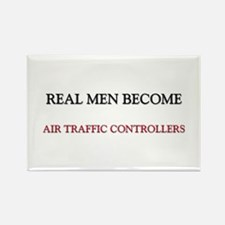 Real Men Become Aircraft Engineers Rectangle Magne