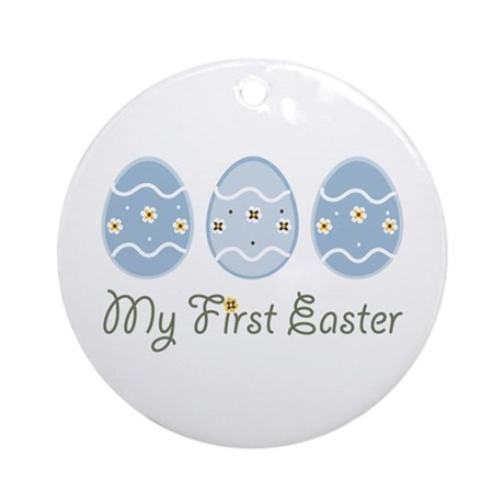 My First Easter Eggs Ornament (Round)