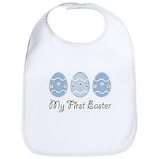 My First Easter Eggs Bib