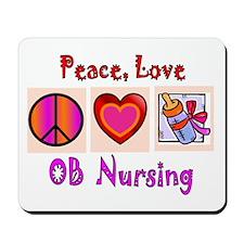 OB Nurse Mousepad