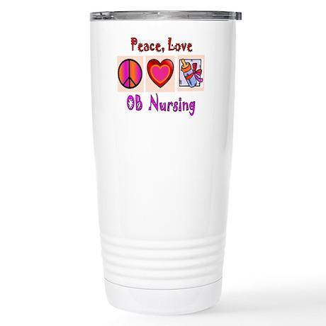 OB Nurse Stainless Steel Travel Mug